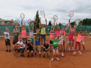 Budějcký tenisový klub LTC Tonstav – Service pořádá 3. září od 17 hodin nábor pro nejmenší zájemce.