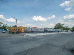 Na místě, kde se dříve prodávaly brambory, má vzniknout odstavné parkoviště.