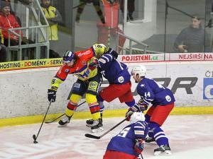 Druhá nejvyšší hokejová soutěž nabídne na úvod zápas ČEZ Motor České Budějovice a SK Horácká Slavia Třebíč