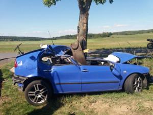 Nehoda u Dobev
