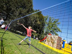 Děti strávily sportovní odpoledne na Sokolském ostrově