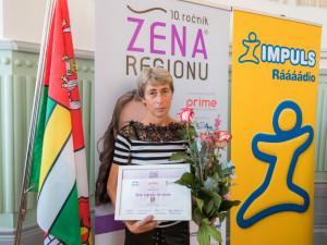 Ženou regionu se stala Ilona Vintrová