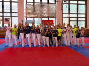 Karatisté z TJ Karate