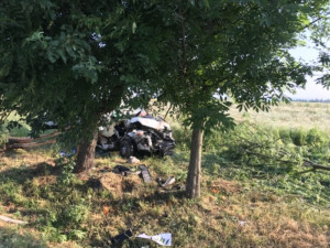 Nehoda na Jindřichohradecku