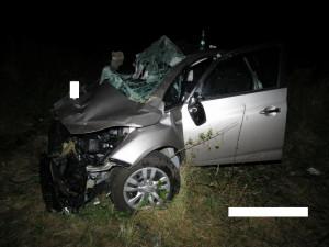 Řidič osobáku nedal přednost náklaďáku, dva lidé se těžce zranili