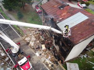 Výbuch domu v Lenoře