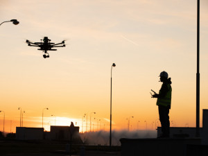Nad Temelínem létal dron, prozkoumal 34 tisíc metrů čtverečních