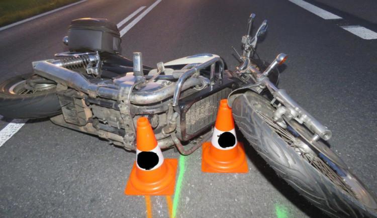 Tragickou nehodu na Strakonicku nepřežil osmačtyřicetiletý motorkář