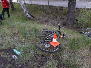 Tragická nehoda cyklisty