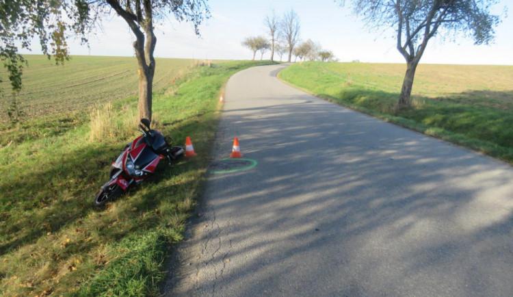 Muž boural na mopedu, nadýchal téměř čtyři promile