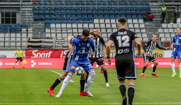 Dynamo veze poprvé v ligové historii všechny body z Hané
