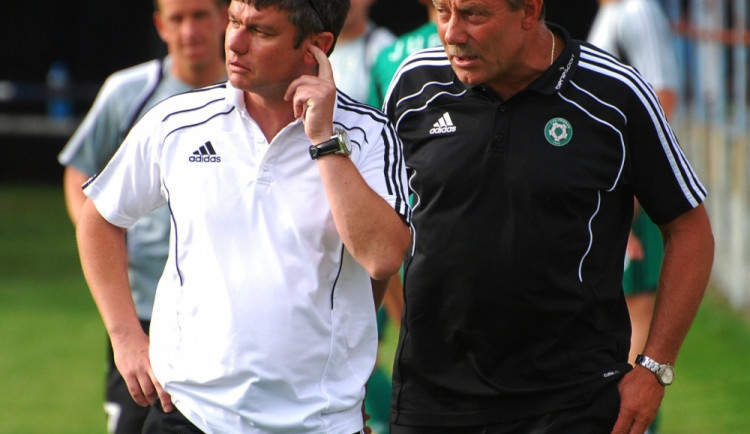 trenér Davida Vavrušky  - František Kopáč