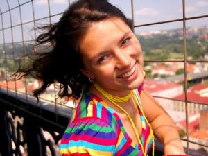 Adéla Márová, 24 let. V Budějcích se narodila a líbí se jí zdejší klid, příroda, krásné náměstí a malebná zákoutí. S Budějcema je spjatá. Profil pod nickem Maradela