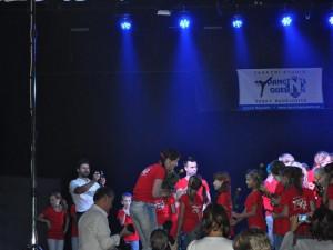 Danceshow Dancing Queens - růže pro Danu Svobodovou