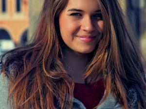 Jana Soukupová, 18 let, V Budějcích se narodila, studuje a plánuje tu nadále žít. Profil pod nickem JanaS.