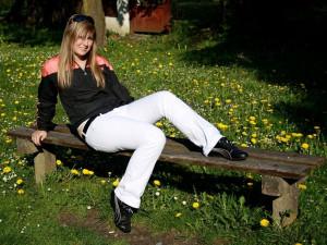 Jana Voříšková, 20 let. V Budějcích se narodila a v současné době zde studuje a žije. Profil má pod nickem: Jana Voříšková