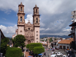 Taxco - kostel