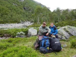 Epizoda 4 - Manafossen: Honza a Jarda u tábořiště ráno