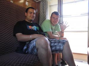 Epizoda 5 - Stavanger: Naše poslední fotografie ve vlaku někde u Veselí nad Lužnicí
