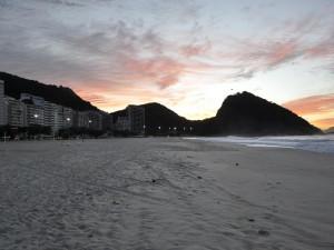 Svítání na Copacabaně