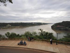 Soutok řek Paraná a Iguazú