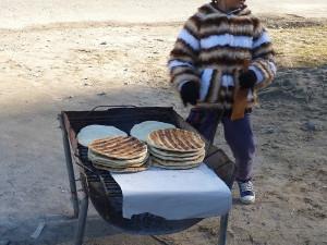 Tafí del Valle - je libo čerstvý chléb