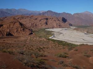 Údolí řeky Río de las Conchas