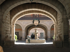 Potosí - vstup do La Moneda