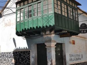 Potosí - balkony