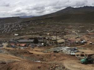 Potosí od Cerro Rico