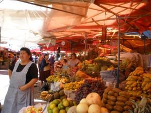 Sucre - voňavé tržiště