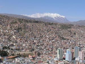 La Paz a Illimani