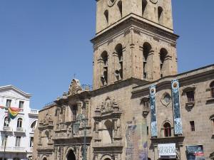 La Paz - kostel San Francisco