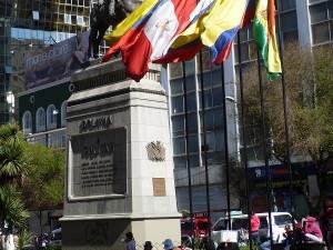 Pomník Simona Bolívarova