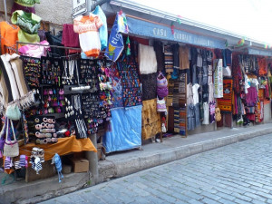Tržnice v La Paz