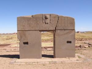 Tiwanaku - brána slunce