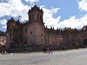 Cuzco - katedrála