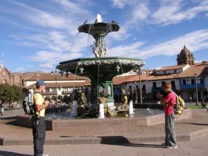 Cuzco - kašna
