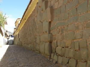 Cuzco - incké zdi