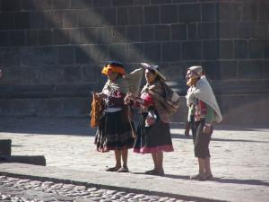 Cuzco - potomci inků hovořící jazykem kečua