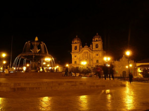 Noční Cuzco
