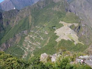 Machu Picchu z Huayna Picchu