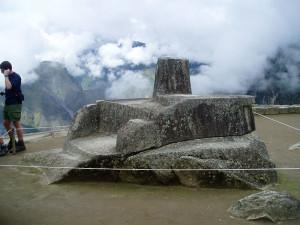 Intihuatana - Sluneční sedadlo