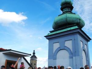 Na Radniční věž byl vstup zdarma