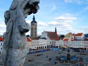 Pohled z Radniční věže