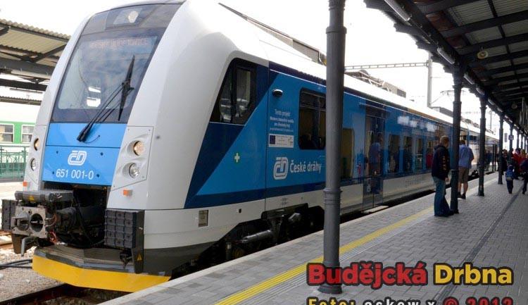 Českobudějovické nádraží v pondělí 1. října 2012