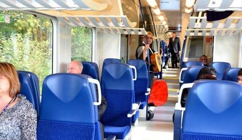 Vlak má 147 pohodlných sedadel