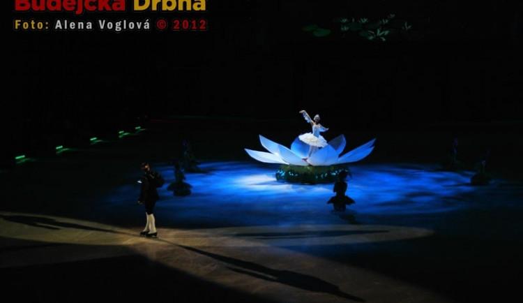 Do pohádky byl zapojen i balet, nádherná scéna
