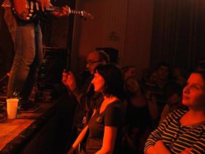 Publikum bylo velice ukázněné a přitom nadšené