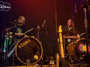 Kapela Mňága a Ždorp koncertovala v Budějcích